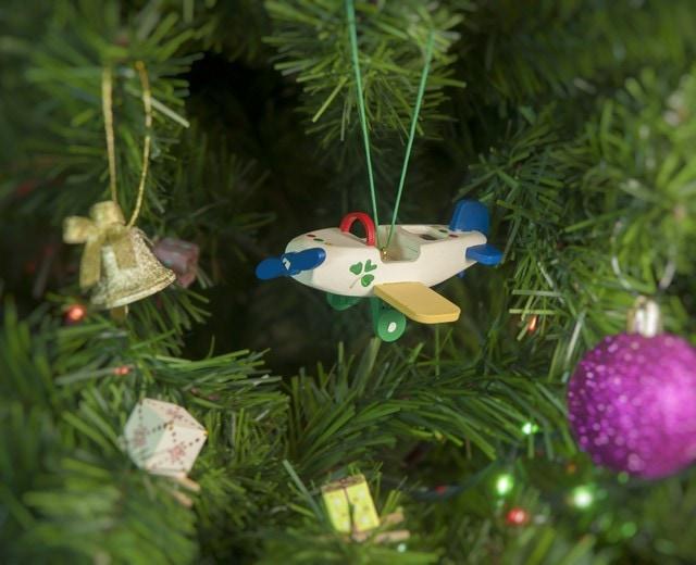 Елочная игрушка - Самолет Моноплан 1013