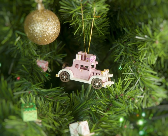 Елочная игрушка, сувенир - Машинка легковая 3015