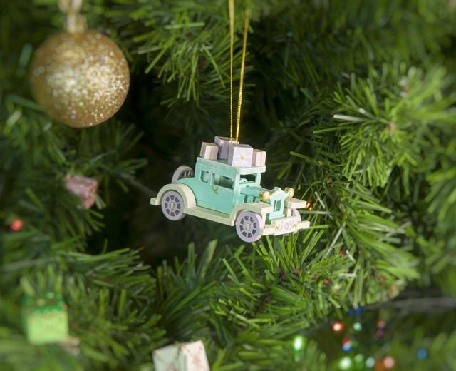 Елочная игрушка, сувенир - Машинка легковая 56GG64-25804