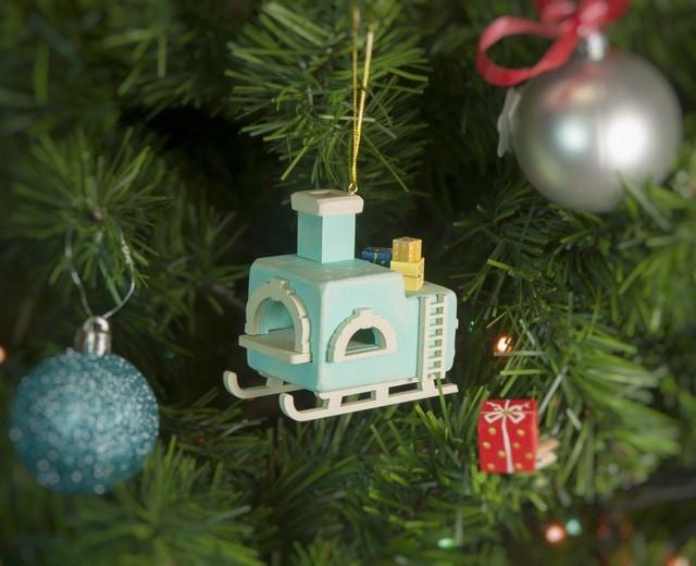 Елочная игрушка, сувенир - Печка Русская 56GG64-25804