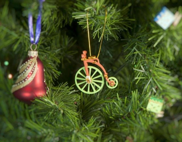 Елочная игрушка - Ретро Велосипед 410-3 Classic