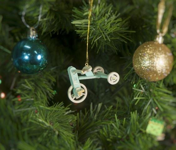 Елочная игрушка - Детский велосипед 56GG64-25804 Classic