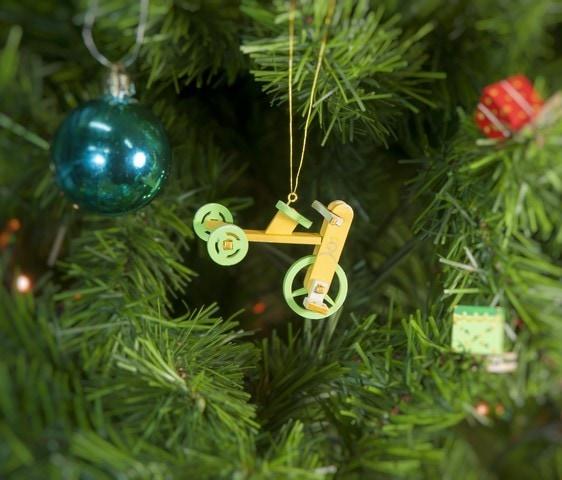 Елочная игрушка - Детский велосипед 370-1 Classic