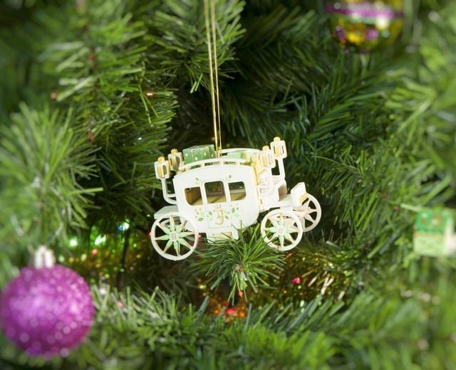 Елочная игрушка, сувенир - Карета крытая 290-3 Classic