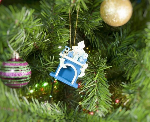 Елочная игрушка - Камин 650-3 P Tree