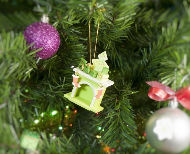 Елочная игрушка - Камин 90YY61_504 P Tree