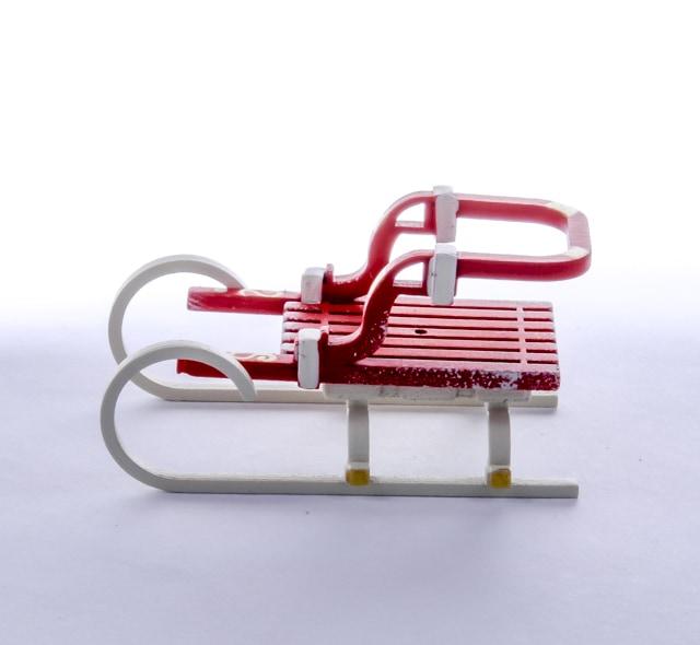 Елочная игрушка - Санки Большие 3020