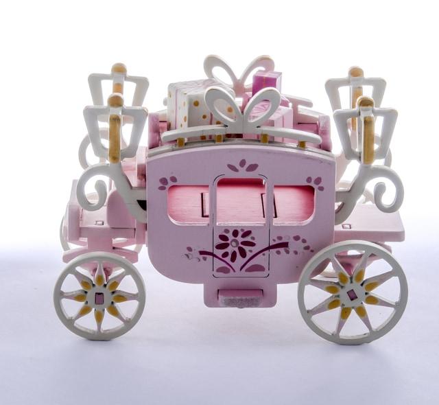 Елочная игрушка, сувенир - Карета крытая 3015