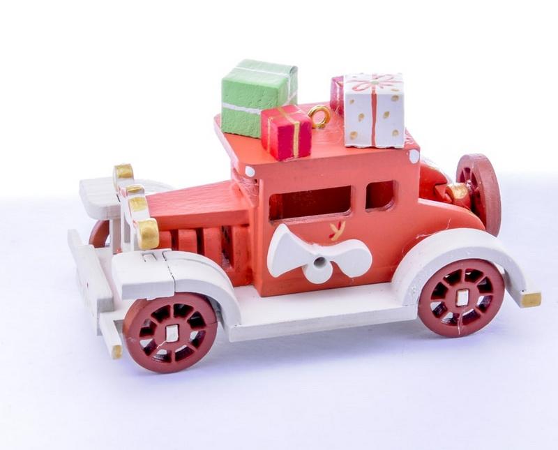 Елочная игрушка, сувенир - Машинка легковая 410-3