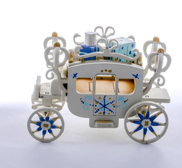 Елочная игрушка, сувенир - Карета крытая 290-3