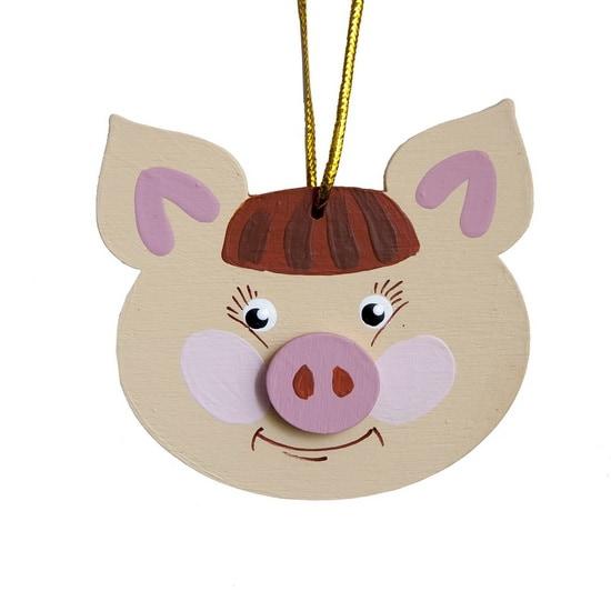 Символ 2019 года - Свинка подвеска 310-2