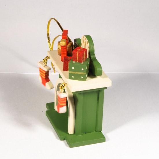 Елочная игрушка - Камин 6017 P