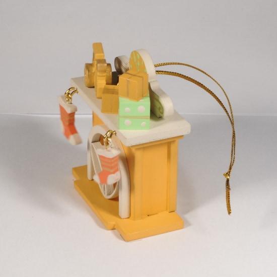 Елочная игрушка - Камин 370-1 P