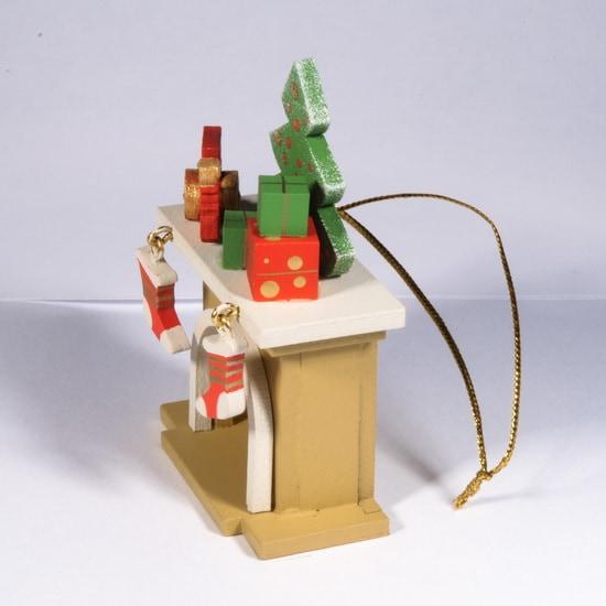 Елочная игрушка - Камин 290-3 P Tree