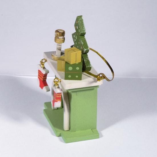 Елочная игрушка - Камин 230-2 S Tree