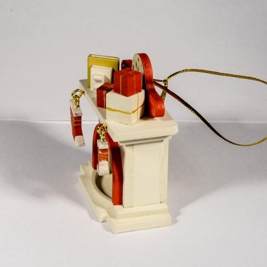 Елочная игрушка - Камин 1013 K