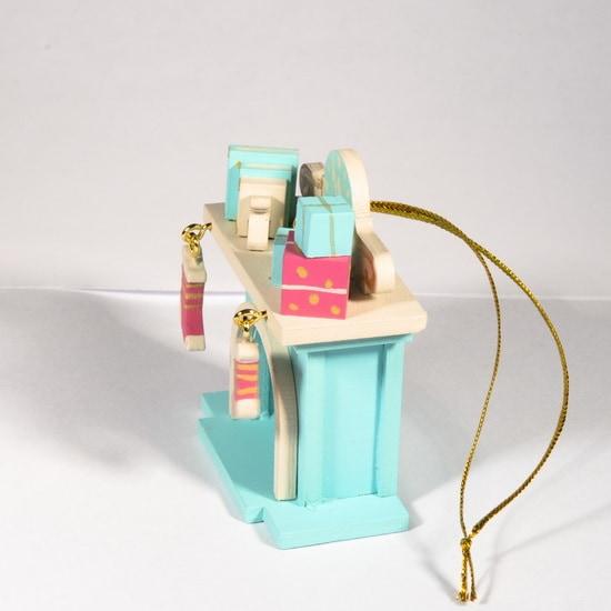 Елочная игрушка - Камин 56GG64-25804 K