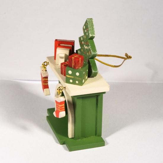 Елочная игрушка - Камин 6017 K Tree