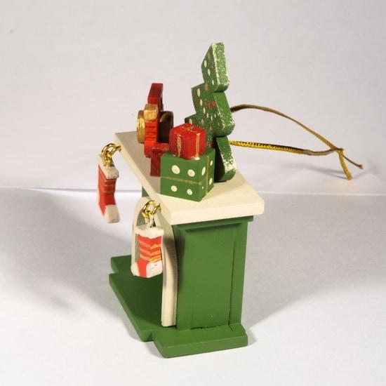 Елочная игрушка - Камин 6017 P Tree