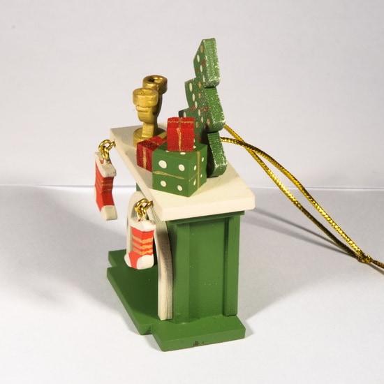 Елочная игрушка - Камин 6017 S Tree
