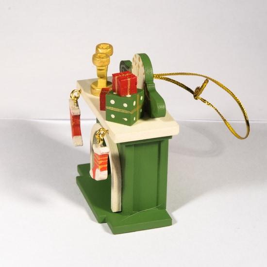 Елочная игрушка - Камин 6017 S