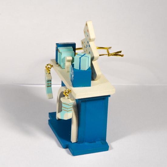 Елочная игрушка - Камин 650-3 K Tree