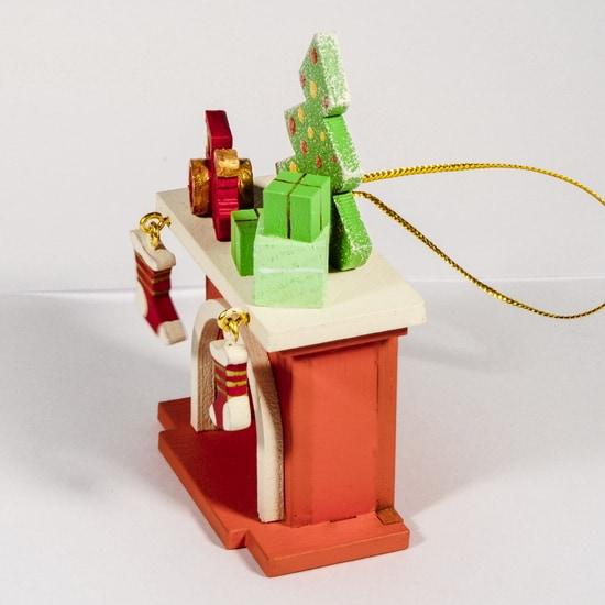 Елочная игрушка - Камин 410-3 P Tree