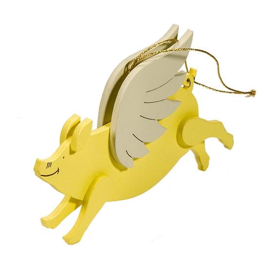 Символ 2019 года - Свинка с крыльями 270-1