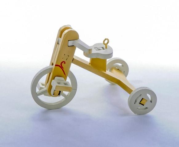 Елочная игрушка - Детский велосипед 290-3 Classic