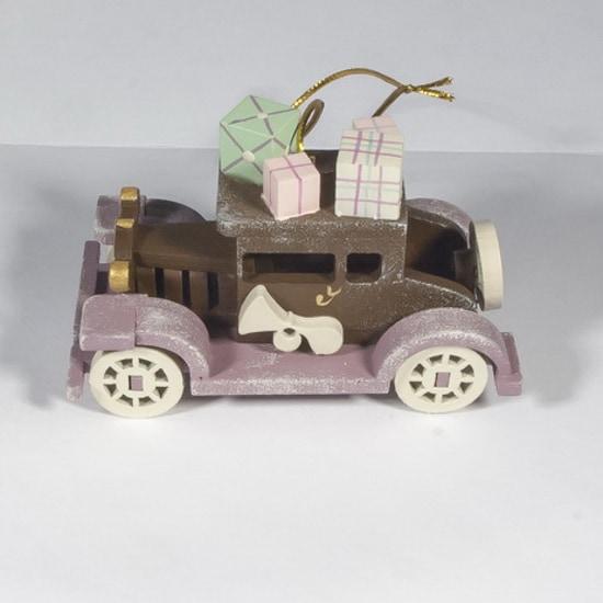 Елочная игрушка, сувенир - Машинка легковая 8028