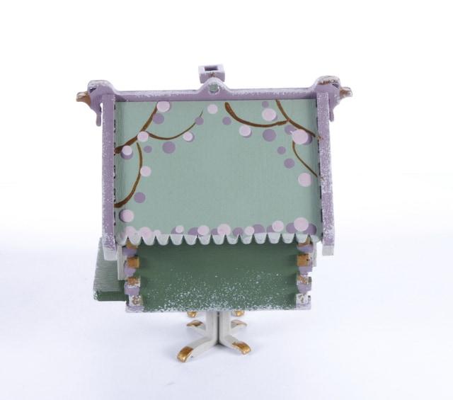 Елочная игрушка, сувенир - Избушка на курьих ножках 6011