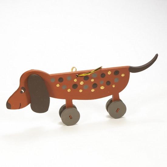 Елочная игрушка - Такса прянечная 360-5