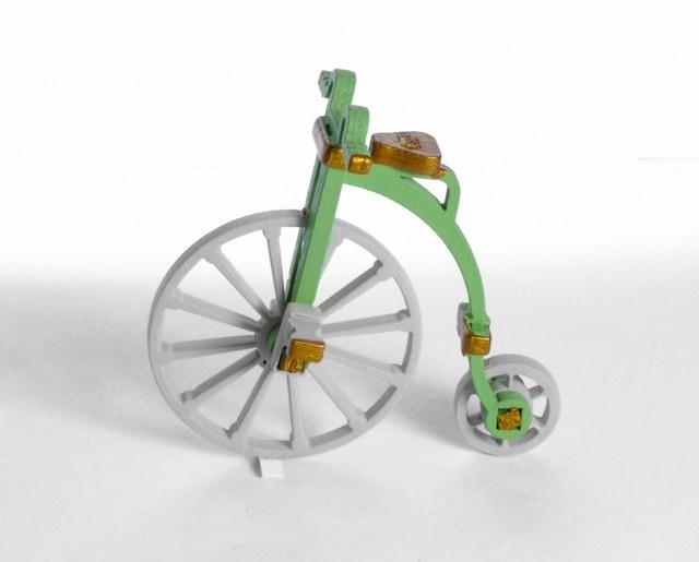 Елочная игрушка - Ретро Велосипед 230-2 Classic