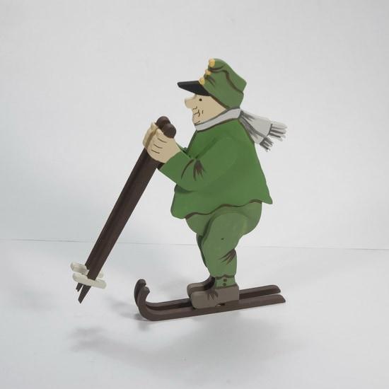 Елочная игрушка - Швейк на лыжах 6017