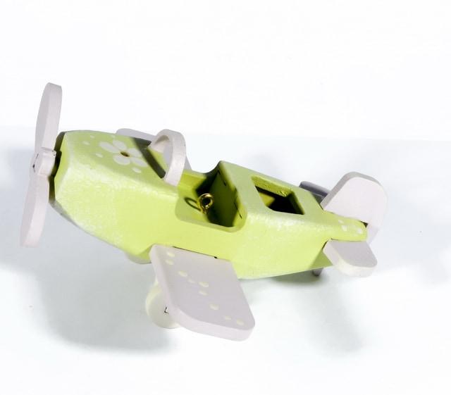 Елочная игрушка - Самолет Моноплан 90YY61-504