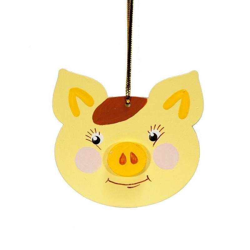 Символ 2019 года - Свинка подвеска 270-1