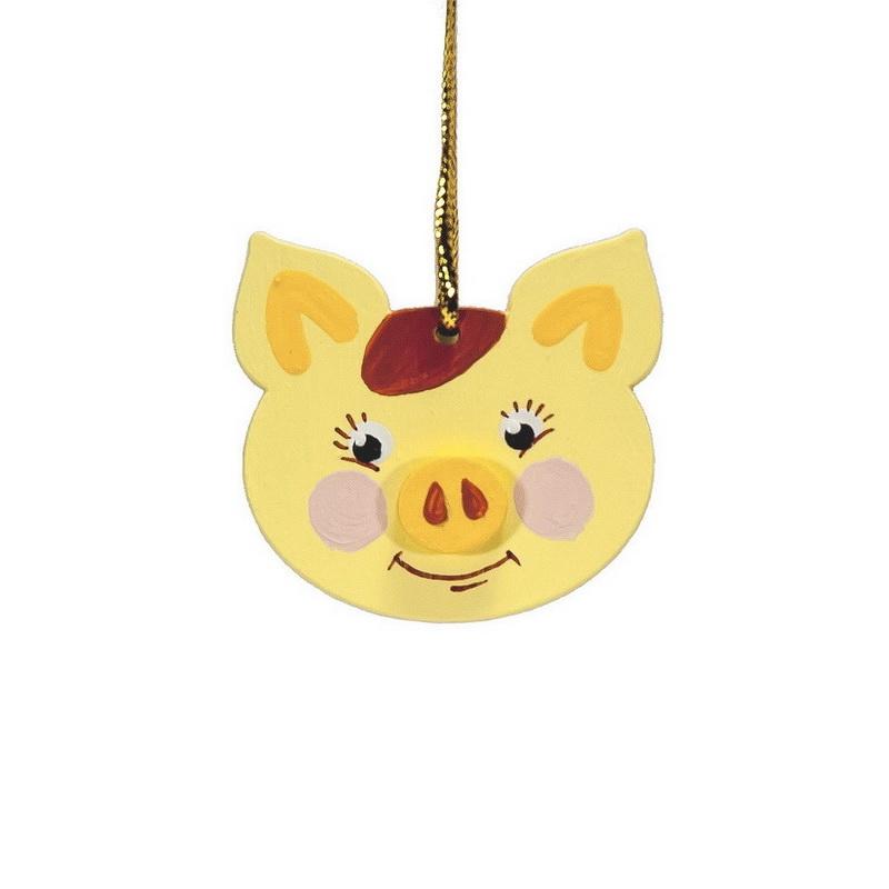 Символ 2019 года - Свинка подвеска малая 270-1