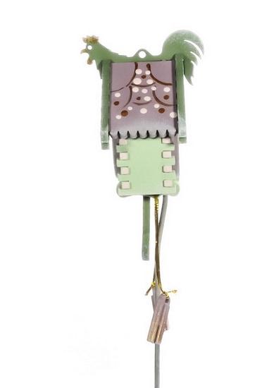 Елочная игрушка, сувенир - Часы с маятником 760-2