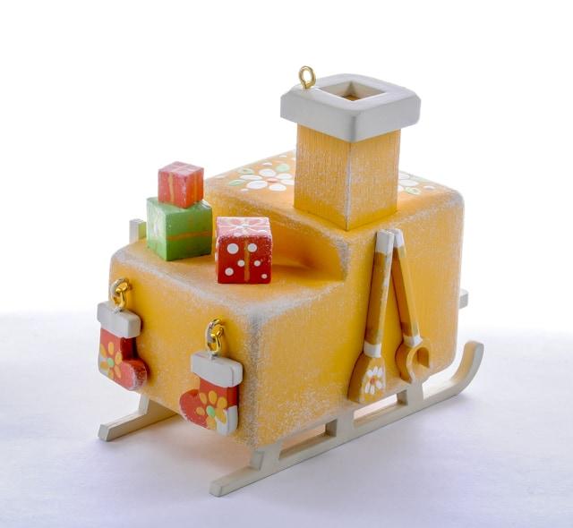 Елочная игрушка, сувенир - Печка Русская 370-1