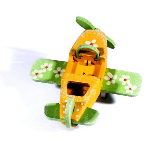 Елочная игрушка - Самолет Моноплан 370-1