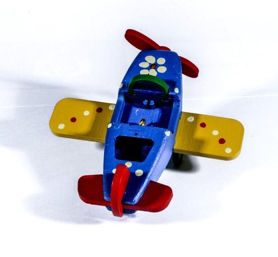 Елочная игрушка - Самолет Моноплан 640-6