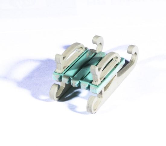 Елочная игрушка - Санки малые 56GG64-25804 Classic