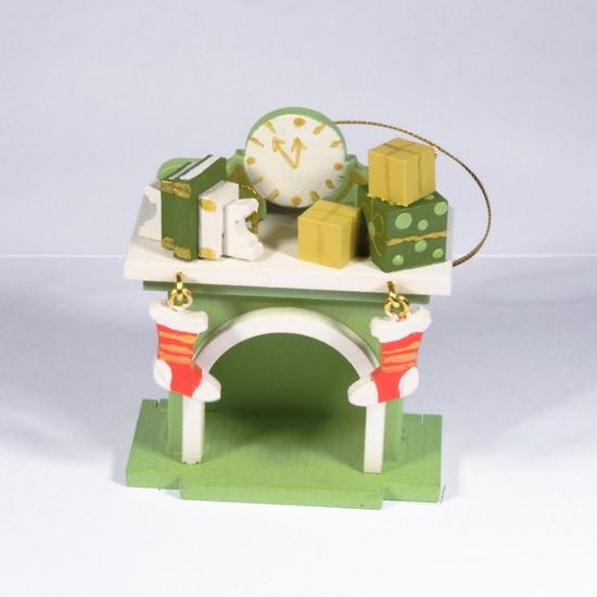 Елочная игрушка - Камин 230-2 K