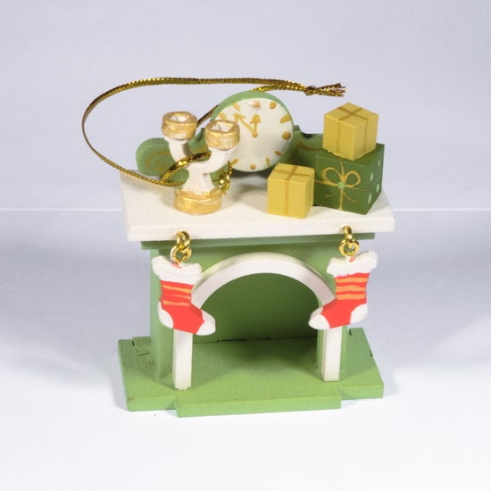 Елочная игрушка - Камин 230-2 S