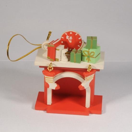 Елочная игрушка - Камин 3020 K