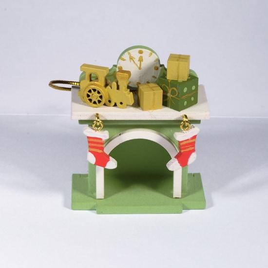 Елочная игрушка - Камин 230-2 P