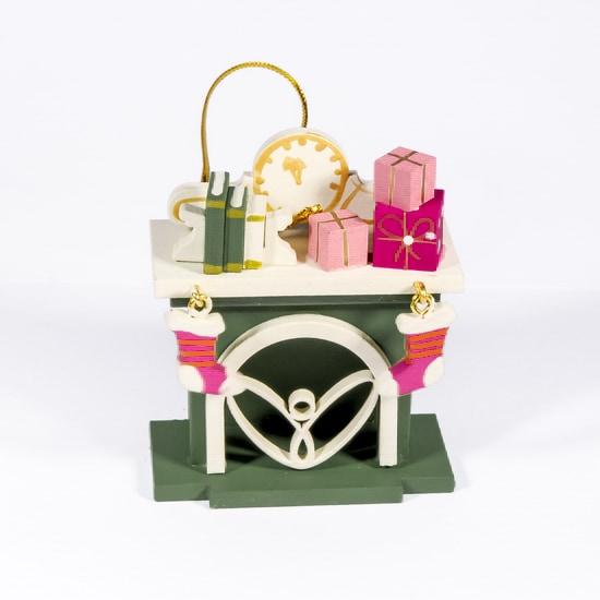 Елочная игрушка - Камин 6011 K