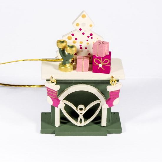 Елочная игрушка - Камин 6011 S Tree