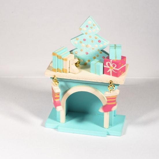 Елочная игрушка - Камин 56GG64-25804 K Tree