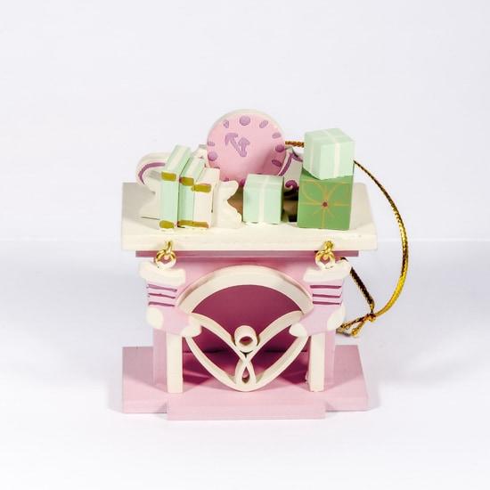 Елочная игрушка - Камин 3015 K